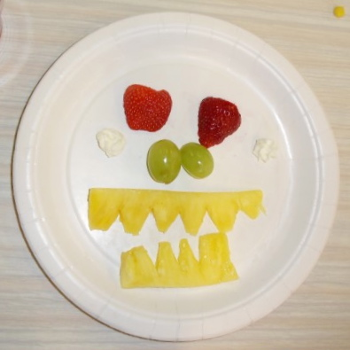 Fruit smiley
