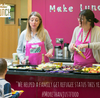 Can you help provide #morethanjustfood?